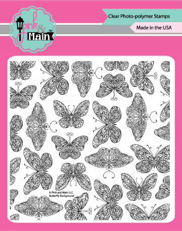 Butterfly Background - Stamp Set